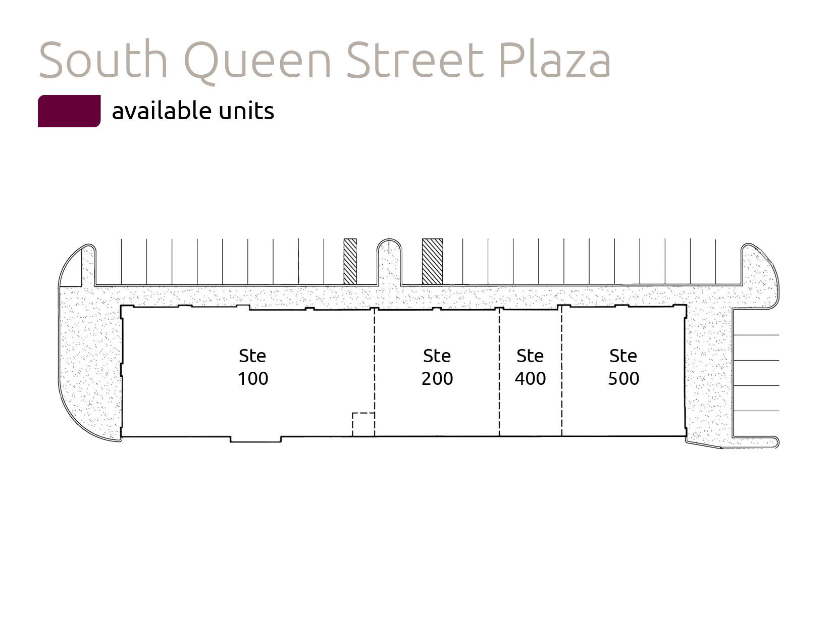 S Queen St Plaza